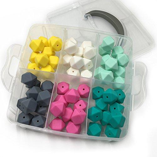 Coskiss DIY Krankenpflege-Schmuck-Kombinationspaket 60pcs gemischte Farbe 0,67