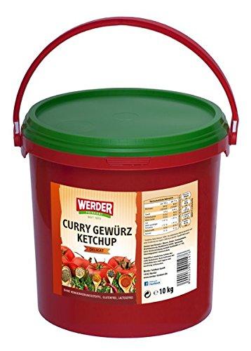 """Werder Curry Gewürz Ketchup """"delikat"""", 1er Pack (1 x 10 kg)"""