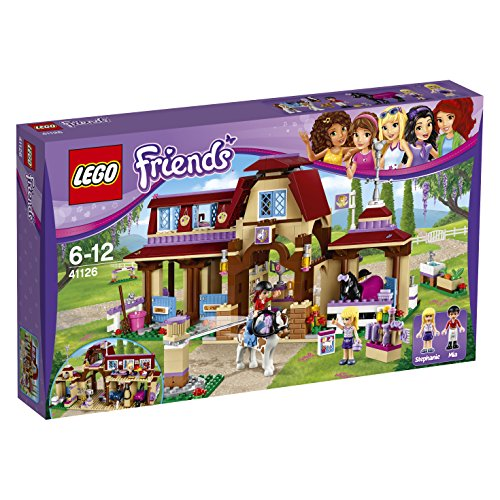 LEGO 41126 Friends Heartlake Riding Club Construction Set