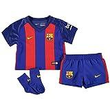 Nike Barcelona Home Kit 2016 2017 Infants Royal/Rd Football Soccer Jersey Shorts