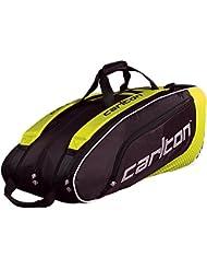 Dunlop Badmintontasche Carlton Pro Player 3 Pockets Thermo Bag - Bolsa para material de bádminton, color multicolor, talla one size
