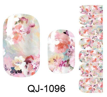 Nail Art Sticker komplette Wrap Weltraum Design - QJ1096 Nail Sticker Tattoo - FashionLife