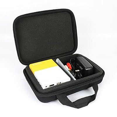 Étui de Voyage Rigide Housse Cas pour Deeplee Mini Vidéoprojecteur Portable LED LCD Vidéoprojecteurs Théâtre par co2CREA de co2CREA