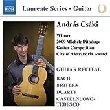Songtexte von András Csáki - Guitar Recital: Bach / Britten / Duarte / Castelnuovo-Tedesco