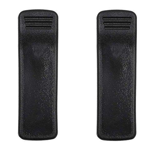 KENMAX Heavy Duty Spring Loaded Belt Clip für Motorola HT1000MT2000MTS2000MTX8000MTX9000JT1000, 2er-Set (Motorola Heavy-duty-handy)