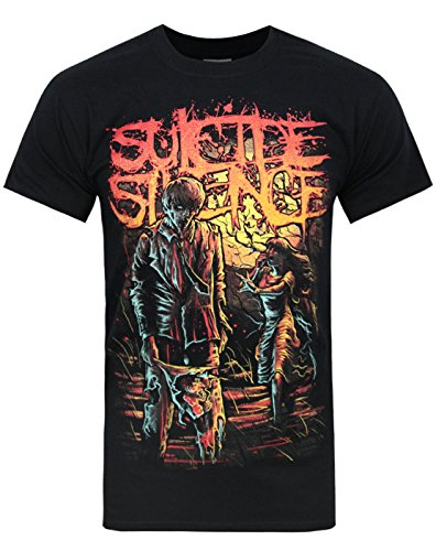 Herren - Official - Suicide Silence - T-Shirt (S) (T-shirts Zombie Band Der)