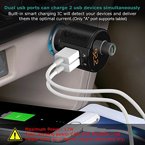 chgeek-bluetooth-fm-transmitter-5v-3-4a-dual-usb-kfz-auto-radio-adapter-mp3-player-freisprecheinrichtung-car-kit-ladegeraet-mit-integriertem-mikrofon-led-display-fuer-ios-android-usw-schwarz-7