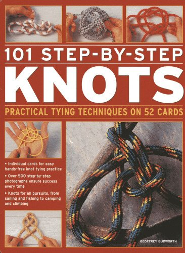 101 Step-by-Step Knots: Practical Tying Techniques on 52 Cards (in a Tin) (Cards in a Box)