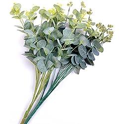 KunstpflanzenEukalyptusPflanzenBlätterGartenHochzeitDekoration, 1Stück Zufällige Farbe