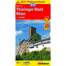 ADFC-Radtourenkarte 17 Thüringer Wald Rhön 1:150.000, reiß- und wetterfest, GPS-Tracks Download (ADFC-Radtourenkarte 1:150000)