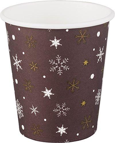 Preisvergleich Produktbild 200 x Winter / Glühwein / Kaffee Becher | 200 ml