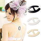 6 Pcs Bra Straps Webbing Party Shadow-Strap Bra Clips Holders Underwear Holders Shape
