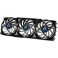 ARCTIC Accelero Xtreme III - Ultraleiser Grafikkartenkühler mit 3 x 92mm PWM-Lüfter, neue Lüftersteuerung für höchste Effizienz (bis 300 Watt), Multi-Kompatibel mit NVIDIA und AMD