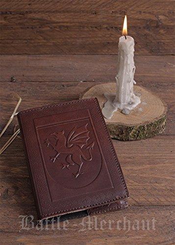 Cuaderno con protección cubierta de piel con textura