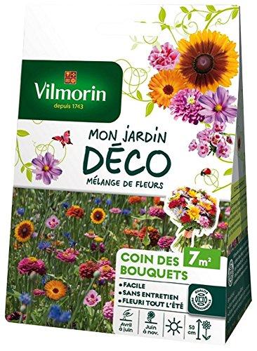 Vilmorin 5858007 Pack de Graines Mélange de Fleurs Coin des Bouquets 7 m²