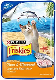 Purina Blue Friskies Tuna and Mackerel Adult Wet Cat Food 80g