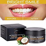 Activated Charcoal Teeth Whitening Powder,Activated Coconut Charcoal Powder for Stronger Healthy Whiter Teeth,Mint Flavor Bild