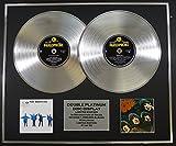 THE BEATLES/Zweifache Platin Schallplatte DISPLAY/Limitierte Edition/COA/HELP & RUBBER SOUL