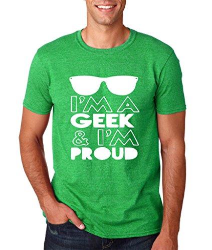 Daataadirect Herren T-Shirt Grün (Heather Irish Green)