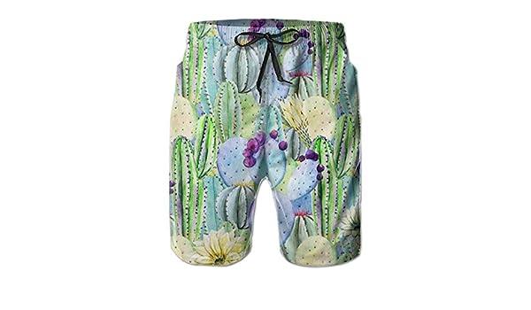 Wilder California Prickly Pear Cactus Hommes Maillot De Bain