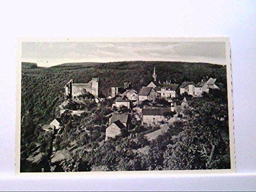 AK Hohenstein, Burg ( Nassau ) im Aartal, Bes. H. Kessler, Restaurant, Hotel, Pension, Panoramaansicht, Ungelaufen.