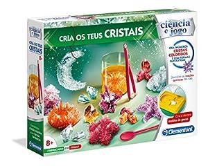 Clementoni - CRIA OS TEUS CRISTAIS (67546 - Versión Portuguesa)