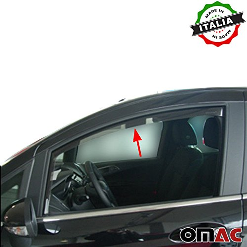 Ford B-Max Deflettori D' aria Deflettore pioggia 2pezzi set anteriore a partire dal 2012