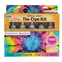 I Love To Create Tulip Artisan Soda Ash Tie-Dye Kit, Other, Multicoloured, 8.35 x 31.84 x 29.94 cm