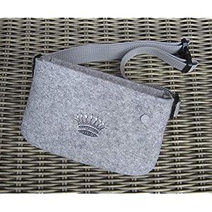 zigbaxx Hip Bag CROWN 1, Gürteltasche, Crossbody Bag Tasche Trachten Dirndl, Bauchtasche, Hüfttasche, Belt Bag…