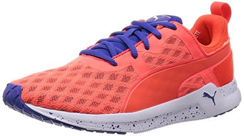Puma Pulse XT V2 Ft, Chaussures de Fitness Femme, Rouge (Red Blast/Royal Blue), 37 EU