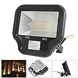 LED Fluter LED Flutlichtstrahler warmweiß Scheinwerfer Außenstahler Flutlicht Spotlight 70W wie 700W Leuchtkraft von Halogenleuchtmittel IP65 LED Arbeitsleuchten 230V