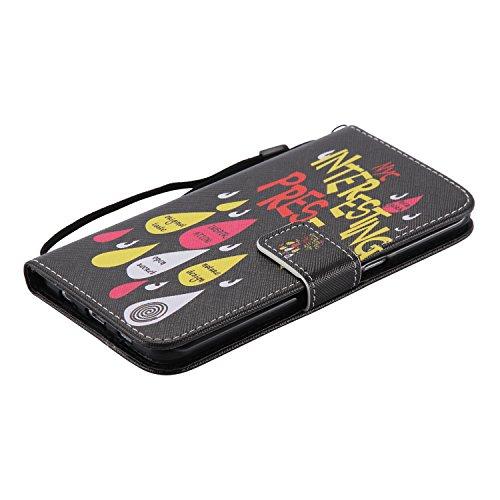 Etui Coque PU Slim Bumper pour Samsung Galaxy S6 Edge Plus (5,7 pouces) Souple Housse de Protection Flexible Soft Case Cas Couverture Anti Choc Mince Légère Silicone Cover Bouchon -photo Frame Keychai 8
