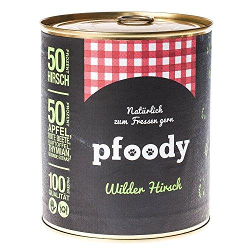 pfoody (Wilder Hirsch, 6X 800g -