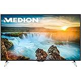'Medion Life x18083MD 31186163,8cm 65pouces Smart TV, UHD 4K, triple tuner HD DVB T2DVB-C DVB-S2, 1500MPI, WiFi,. hbbtv, PVR, classe d'efficacité énergétique: A +, noir