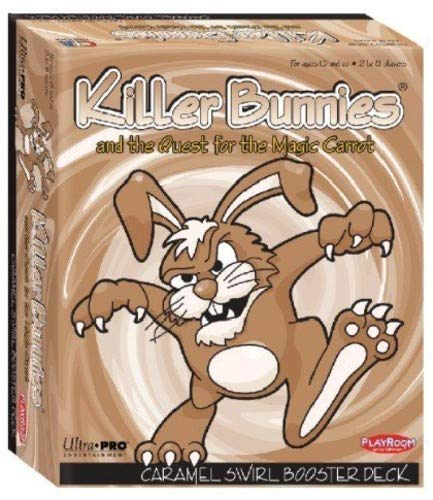 Killer Bunnies and the Quest for the Magic Carrot CaramelSwirlBooster - English