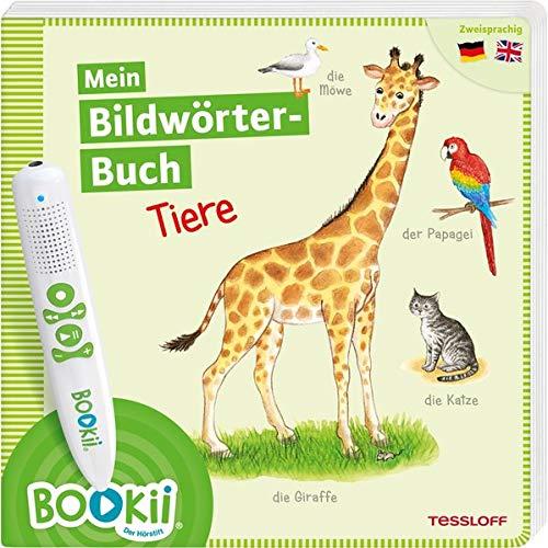 BOOKii®. Mein Bildwörterbuch. Tiere: Zweisprachig Deutsch / Englisch