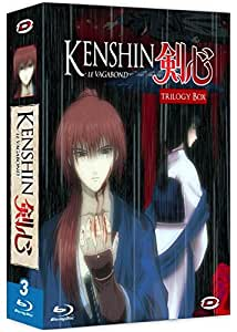 Kenshin le Vagabond - Trilogy Box : Kenshin : Tsuioku Hen + Seisou Hen - Le chapitre de l'expiation + Le Film : Requiem pour les Ishin Shishi [Blu-ray]