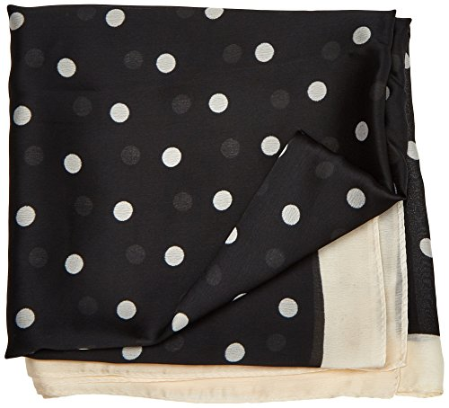 Springfield 4.2.T.MD.Pañuelo Peq.Dots 7575, Fulár para Mujer, (Negro 1), One Size (Tamaño del Fabricante:U)