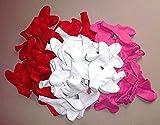 Sachsen Versand 100- Rot-Pink-Weiße-Herz-Luftballon-s-Hochzeit-s-Deko-Geschenk-Idee-Schmmuck-Schmücken Helium Geeignet