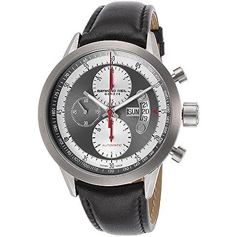 Raymond Weil Freelancer Herren 45 mm cronografo DATA Clock 7745-TIC-05659