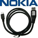 Original Nokia USB Datenkabel Kabel DKE-2 für 3109 Classic, 3110 Classic, 3500 Classic, 5200,5300 XPressMusic, 5500, 5510, 6110 Navigator, 6120 Classic, 6121 Classic, 6124 classic, 6290, 6300, 6301, 7390, E51, E90, N76, N800, N91, N91 8 GB, E90 Communicator, N95, N95_8GB, N-Gage.
