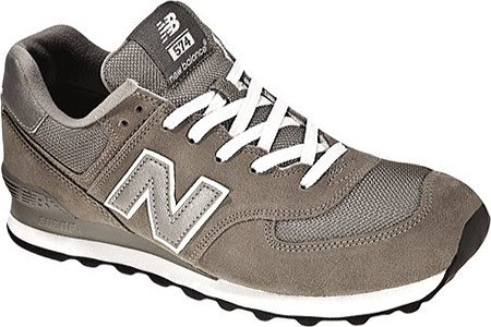 New Balance M W574, Baskets Basses Homme GS GREY 12