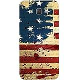 Casotec USA Flag Design Hard Back Case Cover for Samsung Galaxy J2