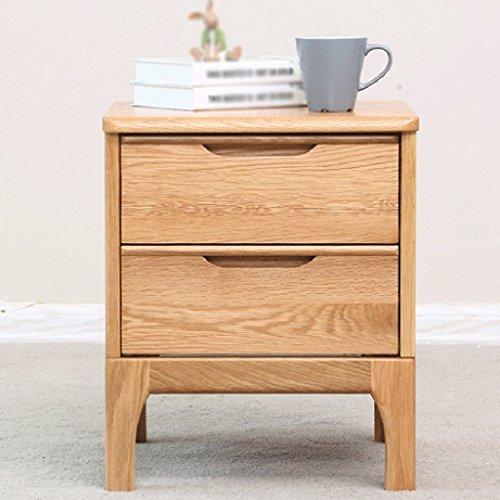 LI JING SHOP - Tables en bois massif Tables de chevet Chambre moderne de simplicité Armoire de rangement table basse