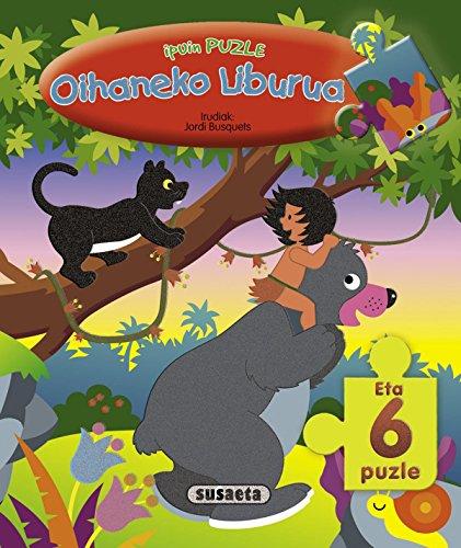 Oihaneko Liburua (Ipuinak) (Ipuin puzle) por Equipo Susaeta