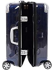 ankoy Gepäck Protector Koffer klar PVC transparent Schutzhülle mit Kette passt Rimowa Limbo Multiwheel Serie