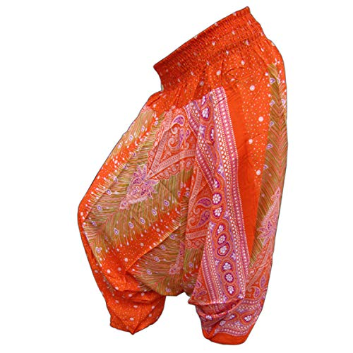 PANASIAM Aladin Pants, Print-Design-Style: Peacock v10
