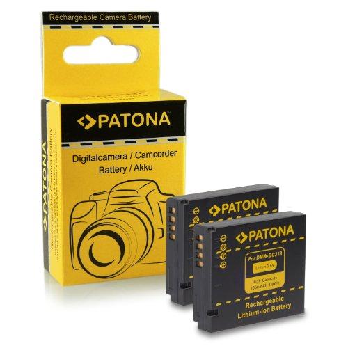 2X BATERIA PANASONIC DMW BCJ13 / LEICA BP DC10E PARA PANASONIC LUMIX DMC LX5 | DMC LX7 | LEICA D LUX 5 | D LUX 6