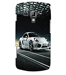 ColourCraft Car Back Case Cover for SAMSUNG GALAXY S DUOS 2 S7582