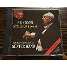 Bruckner: Symphony No. 4 - NDR Sinfonieorchester / G?ter Wand (Live Recording) by unknown (1991-05-10)